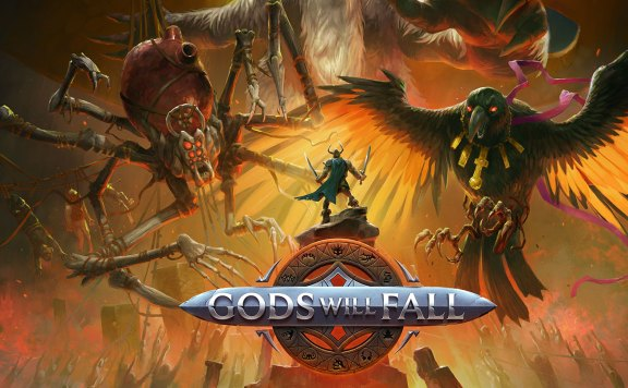 Gods Will Fall portada