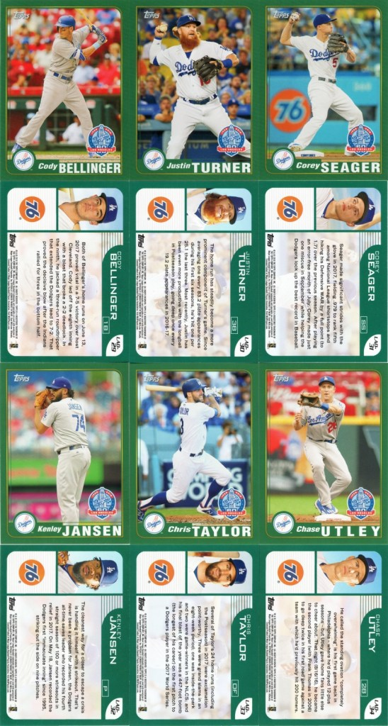 2010 Topps Dodgers 60th Anniversary Cards: 2000's