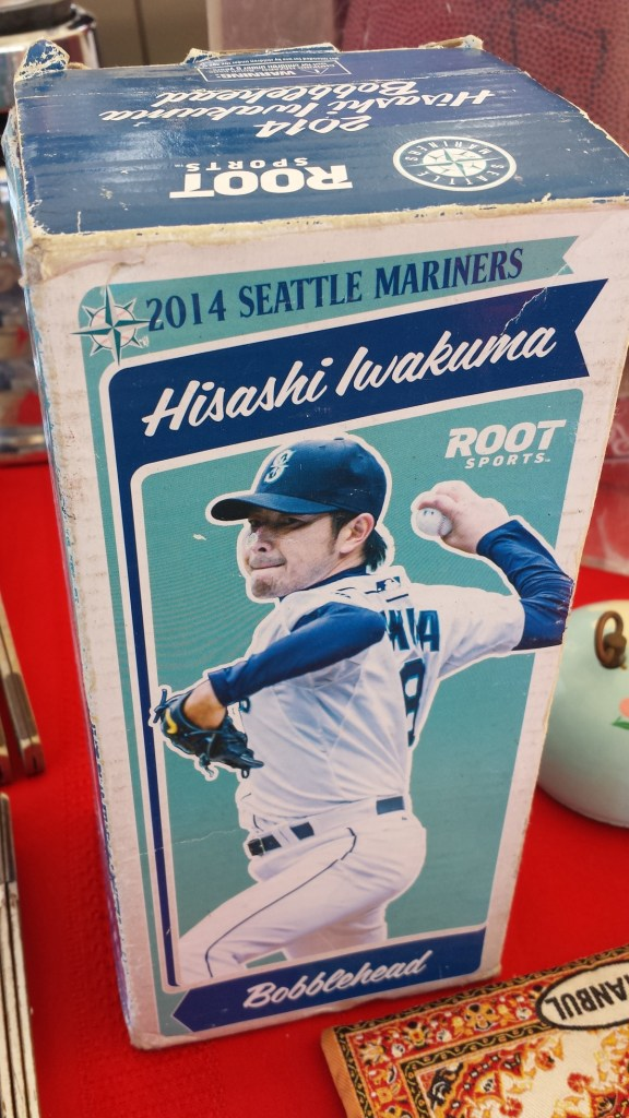 Hisashi Iwakuma bobblehead (a July 2014 stadium giveaway)