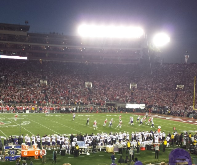 2019 Rose Bowl Game - Final minutes