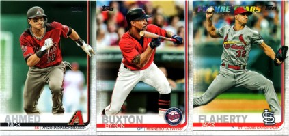 A few more 2019 Topps Series 1 cards from a retail value pack