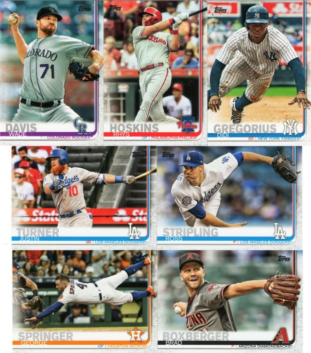 2019 Topps: Popping right out of the card