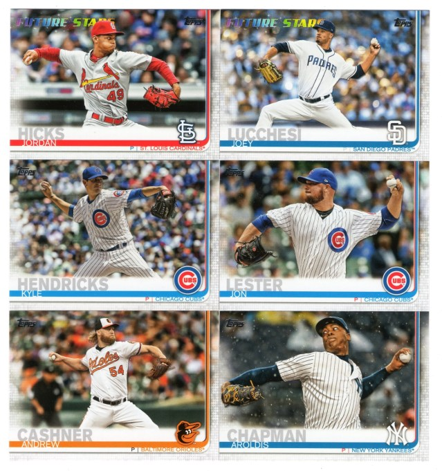 2019 Topps Series 1: More pitchers in action