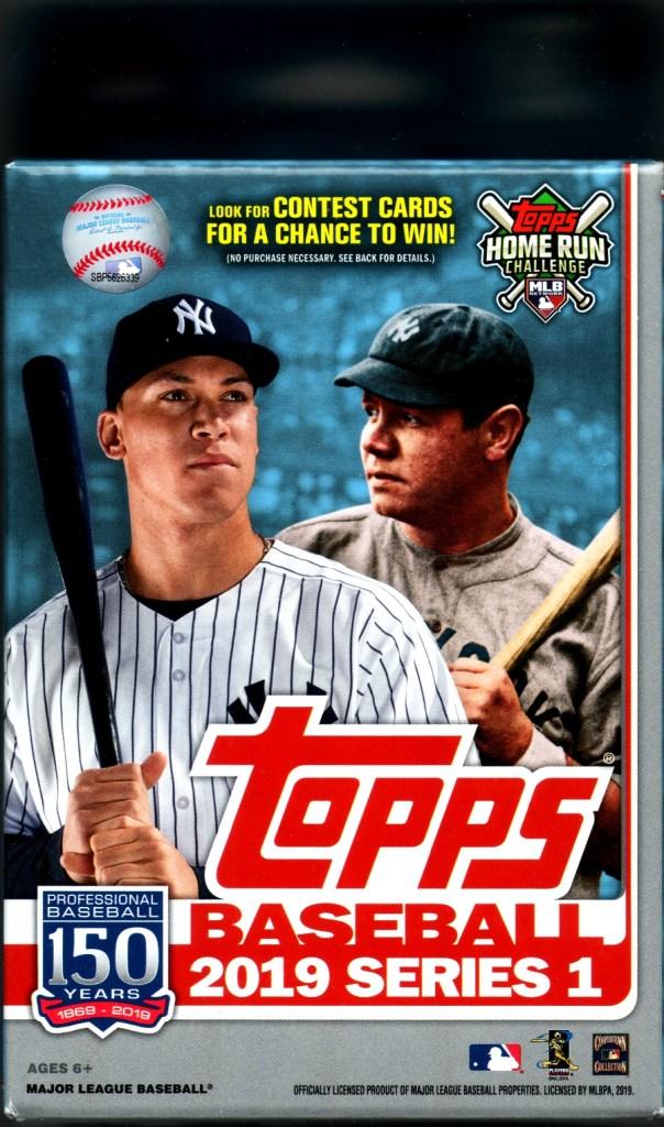 2019 Topps Baseball hanger box - Target