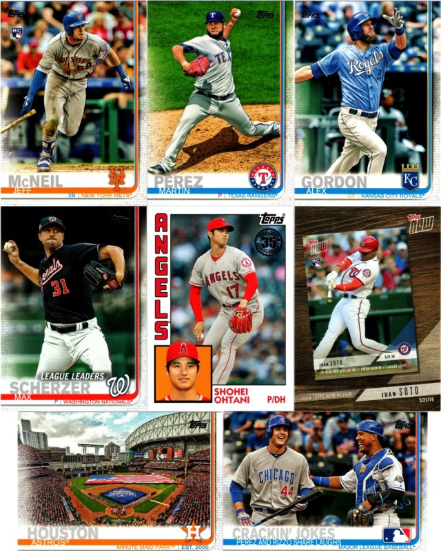 650df0d5d 2019 Topps Series 1 cards from a retail value pack