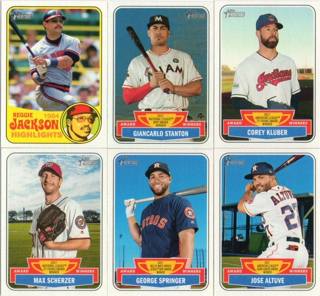 More 2018 Topps Heritage High Number inserts