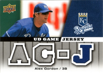 2009 Upper Deck -Game Jersey GJ-GO