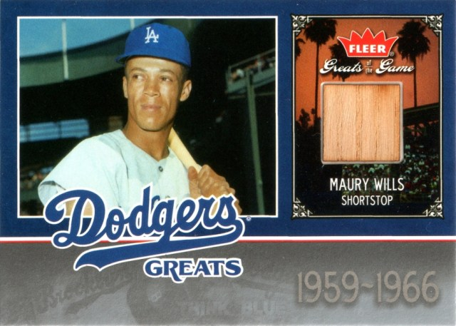 2006 Fleer Greats of the Game Dodger Greats Memorabilia #LAD-MW