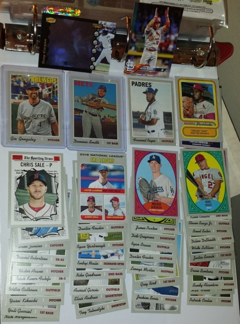 A nice assortment of cards from Bru