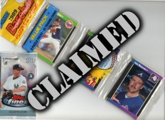 Baseball Prize Lot #9 - Claimed