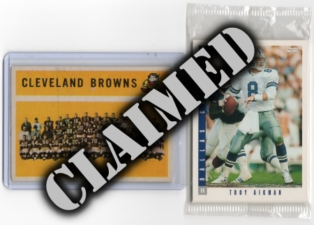 Football Prize Lot #1- Claimed