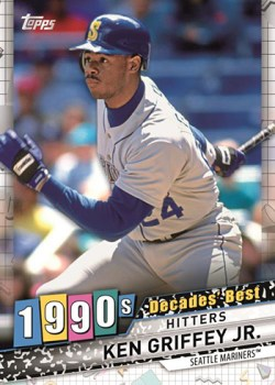 2020 Topps Decades Best Ken Griffey Jr.