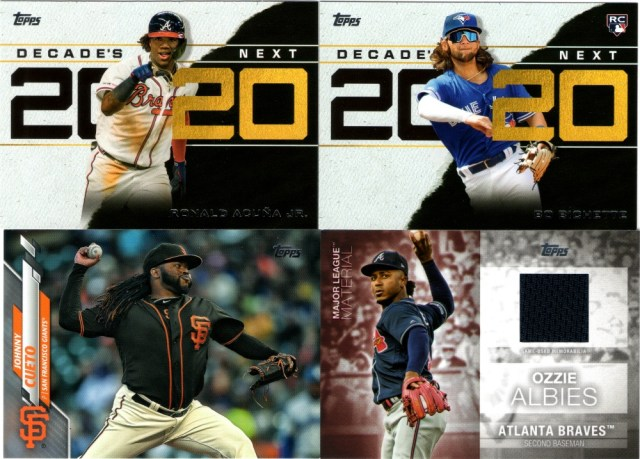 Still more 2020 Topps Series 1 goodness (with an extra peek at the Cueto 1/1)