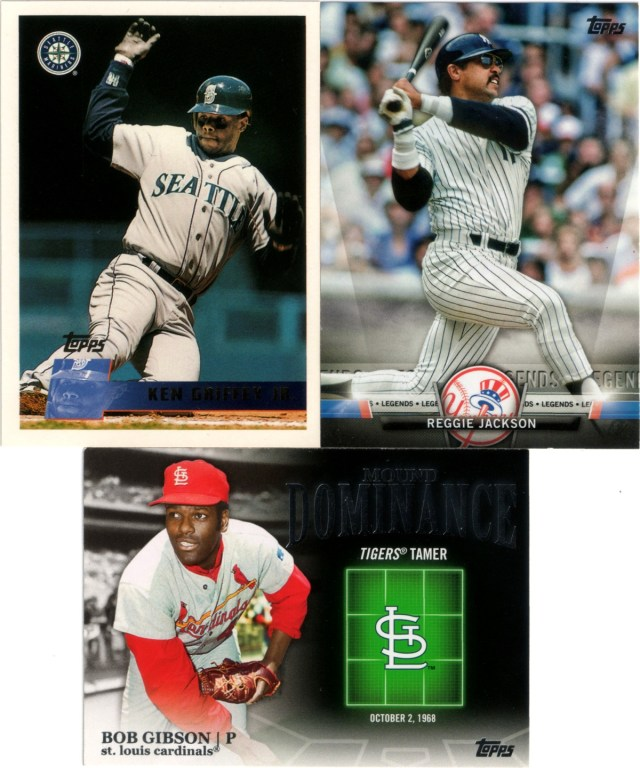 1996 Topps #205, 2012 Topps Mound Marvels #MD-6, 2018 Topps Salute Series 2 #S-77