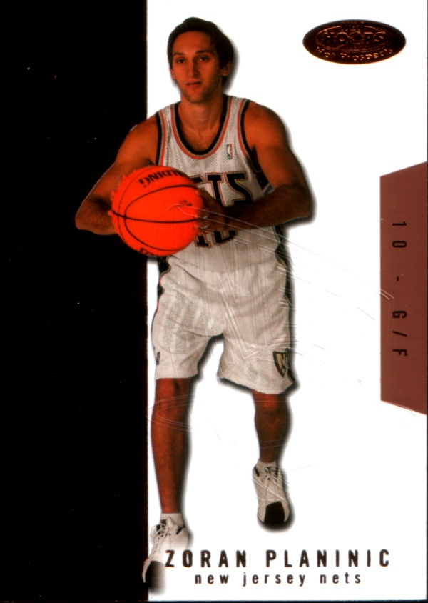 2003-04 Hoops Hot Prospects #114 Zoric Planinic