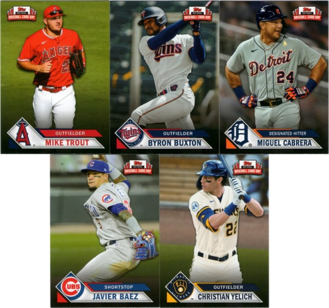 2021 Topps NBCD cards (pack 1)