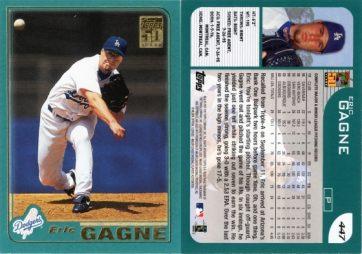 2001 Topps #447 Eric Gagne