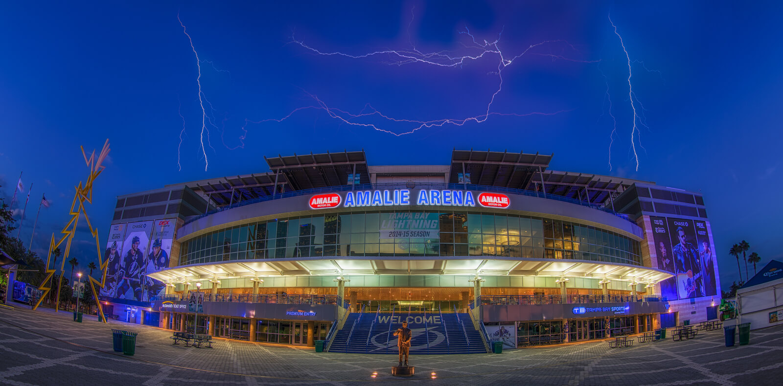 amalie arena guide
