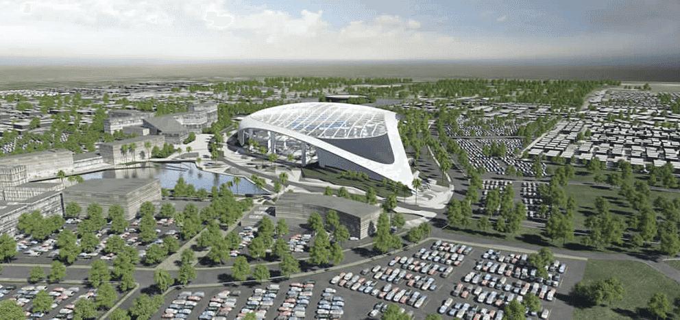 Los Angeles Stadium News & Updates (LASED at Hollywood Park)