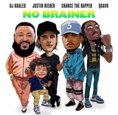 "Stream DJ Khaled ""No Brainer"" Featuring Justin Bieber, Chance the Rapper & Quavo"