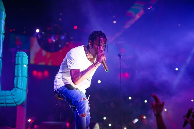 Travis Scott Live Performance – Austin City Limits 2018