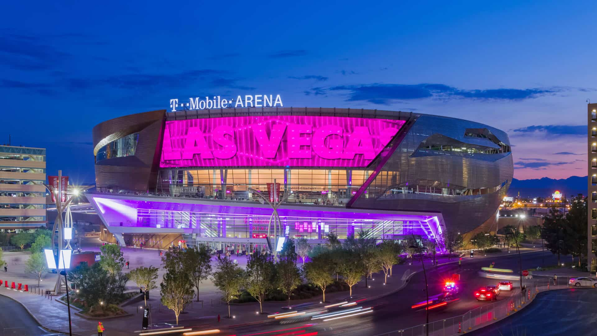t-mobile arena guide