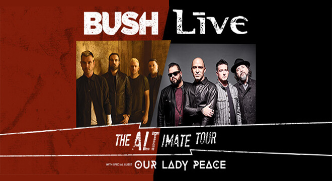 Bush & +LIVE+ Altimate Tour Setlist, Tickets, Presale Code