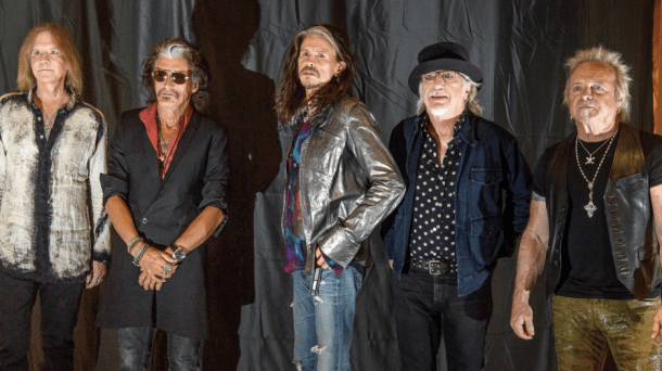 aerosmith las vegas residency band photoshoot