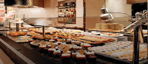 reasure island corner market buffet in las vegas