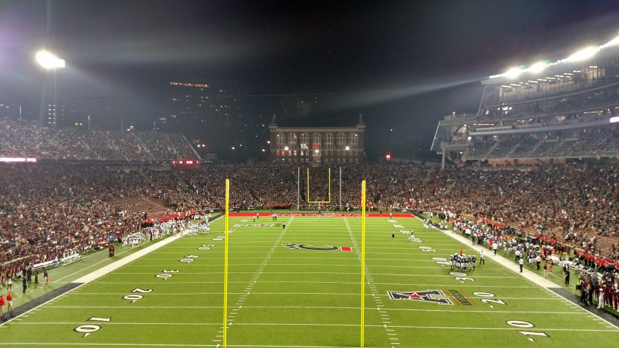 Nippert Stadium Endzone View