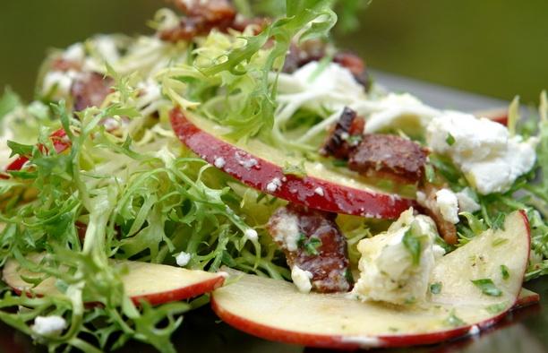 Salade-geitenkaas-en-appel