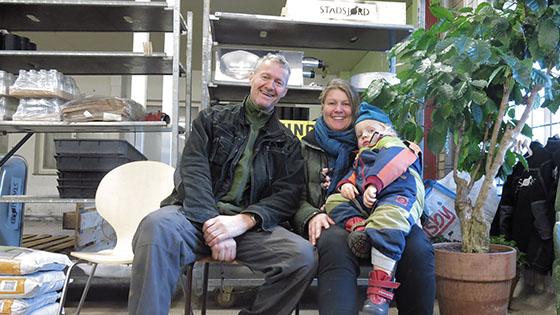 Annika, son och Niklas