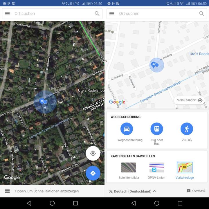 Google Maps Go In Deutschland Nutzbar