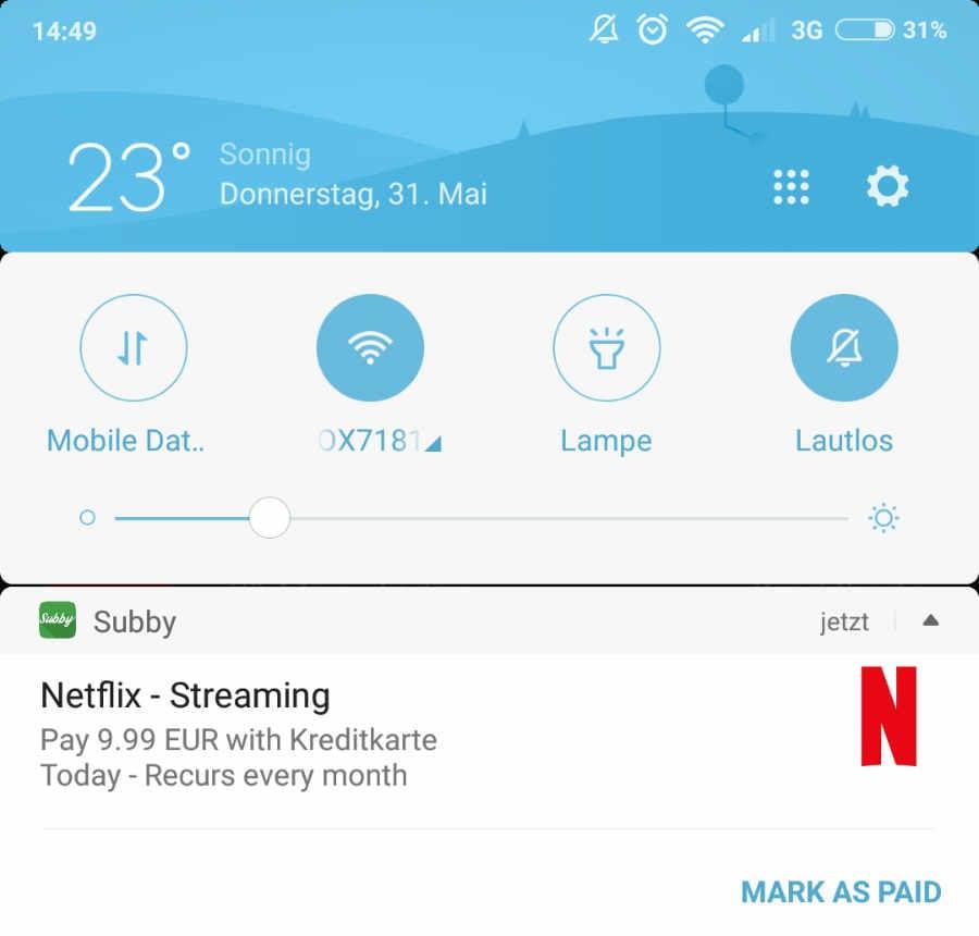 Subby App Für Android Hilft Euch Abonnements Zu Verwalten
