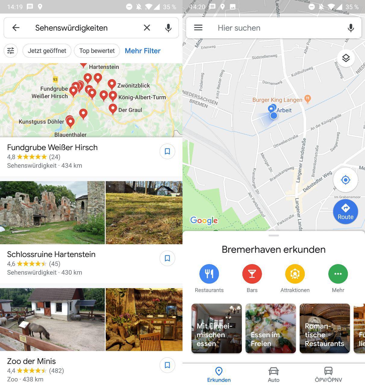 Google Maps: Neues Design auch für deutsche Nutzer ab heute