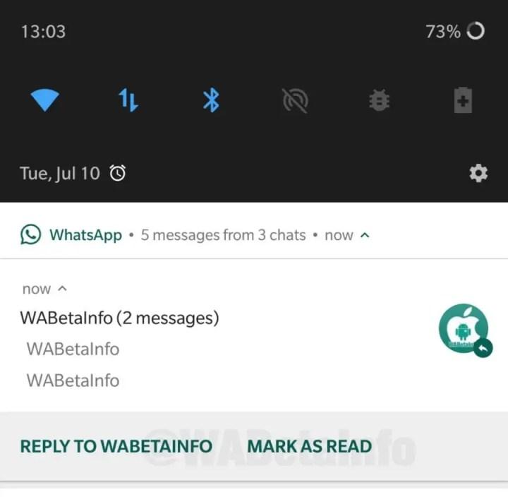 Whatsapp Nachrichten Lassen Sich Bald Aus Benachrichtigungen Als