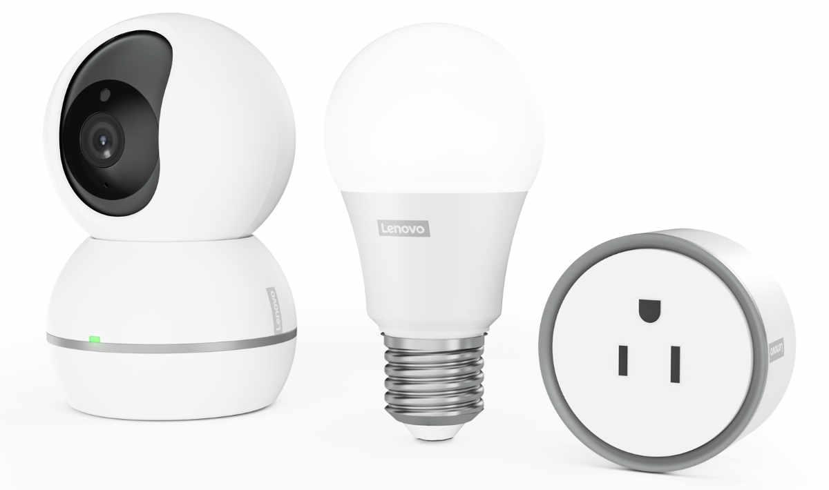 lenovo smart home essentials neue kameras lampen und. Black Bedroom Furniture Sets. Home Design Ideas
