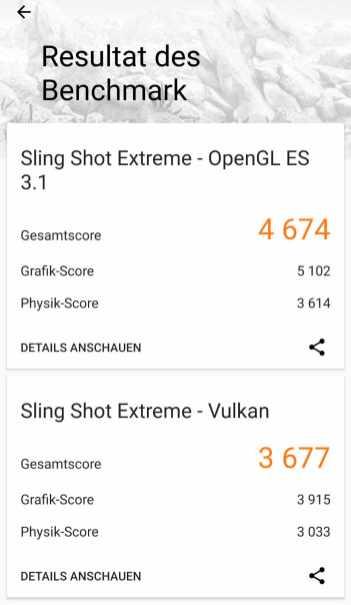 Google Pixel 3 XL 3DMark