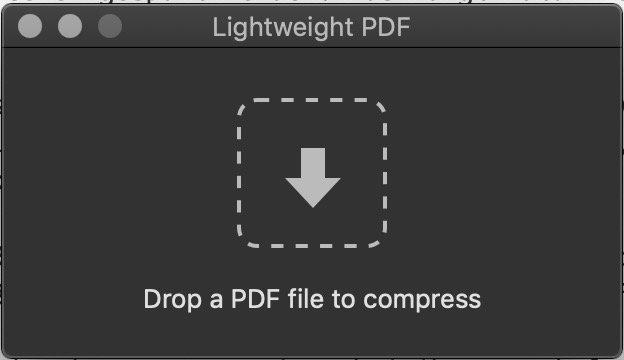 Lightweight PDF: Kleines Tool für macOS lässt PDF-Dateien schrumpfen