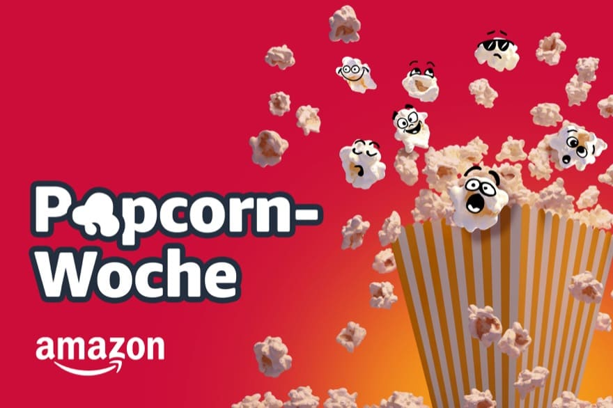 Amazon Popcorn-Woche: Endlose Entertainment-Angebote ab dem 1. März