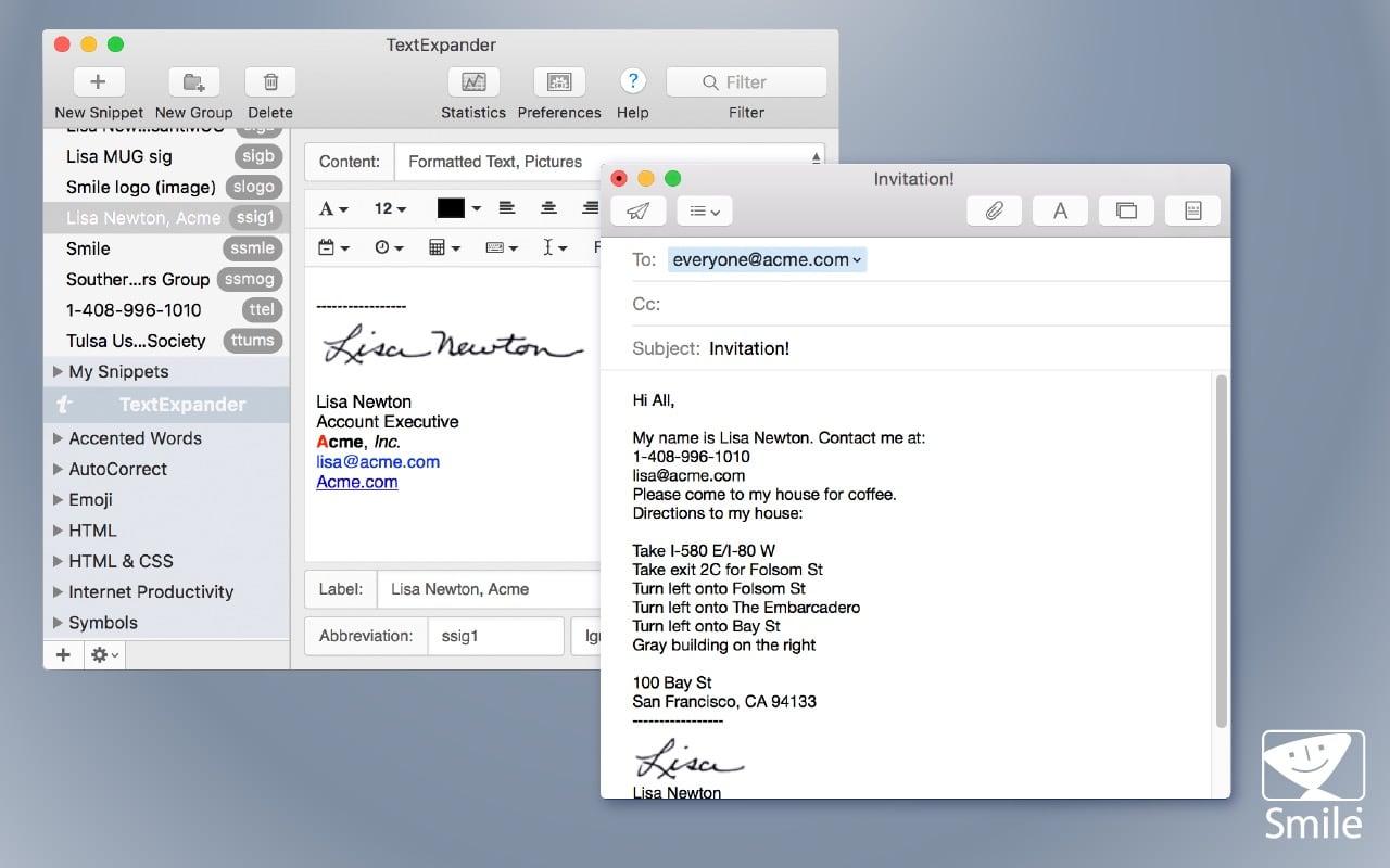TextExpander jetzt auch mit Chrome-Erweiterung