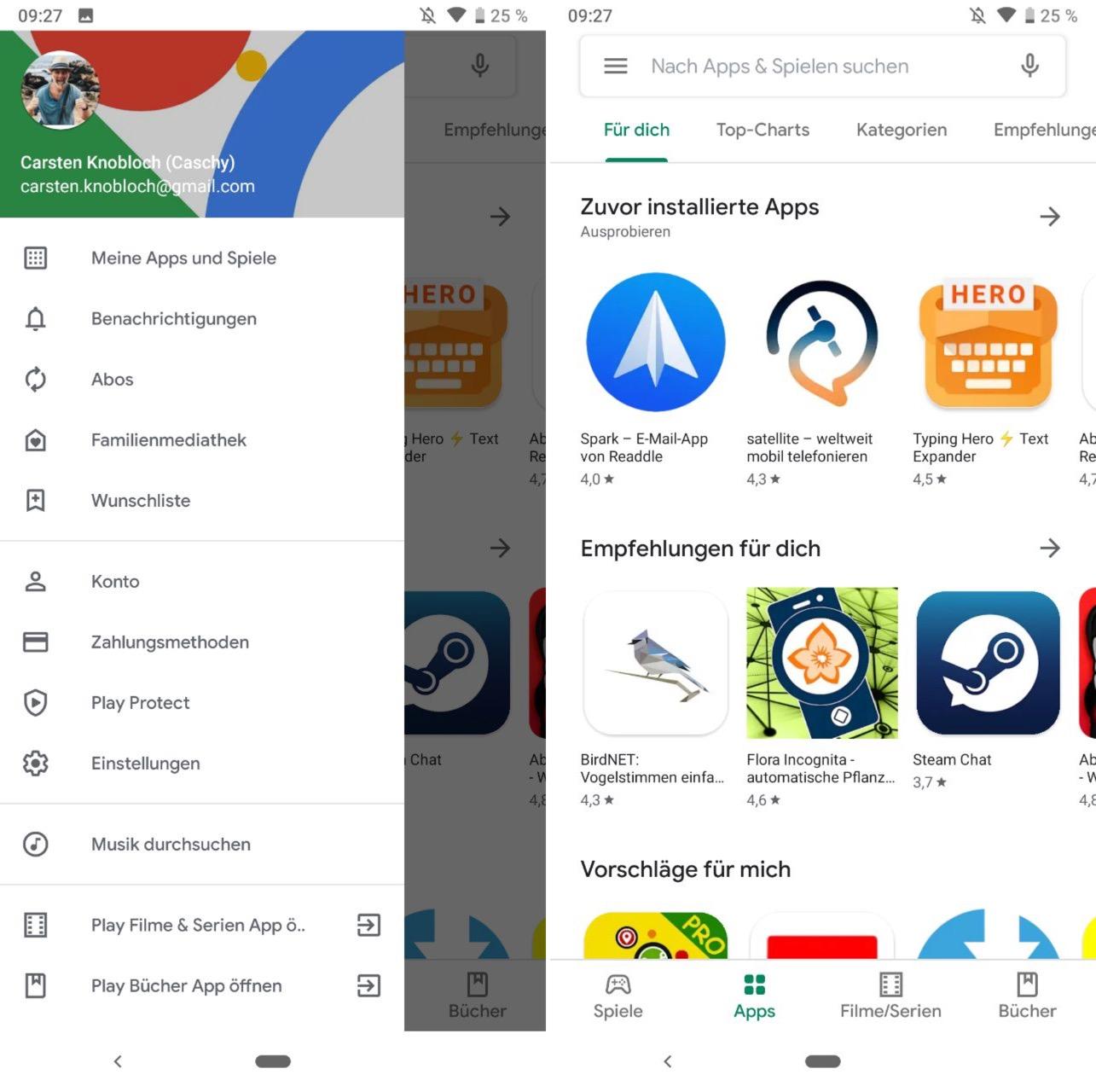 Das ist der neue Google Play Store