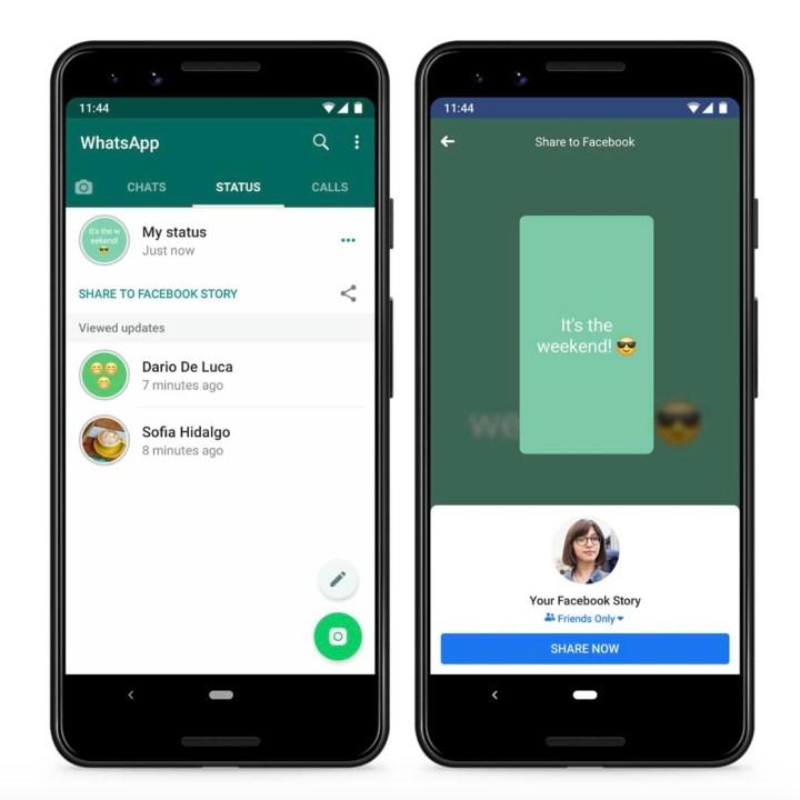 Whatsapp Testet Status Weitergabe An Facebook Und Andere Apps