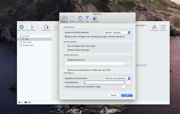 GoodSync für Windows und macOS gerade kostenlos