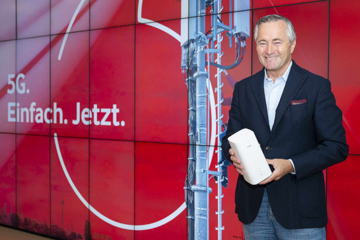 Vodafone: Zugang ins erste 5G-Netz für 5 Euro ab morgen