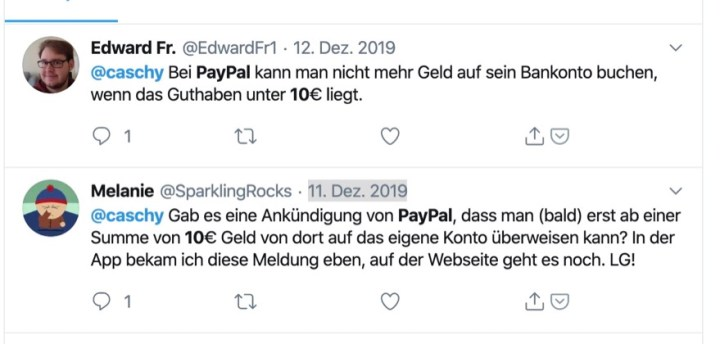 Paypal Transaktion Löschen