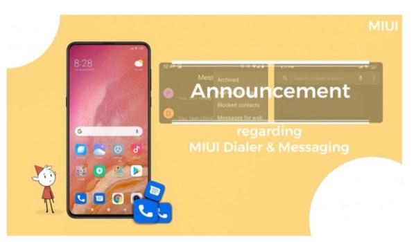 Xiaomi setzt nun auf Google Telefon- und SMS-App