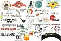 Illustrationen und gezeichnete Logos, Sara Contini-Frank