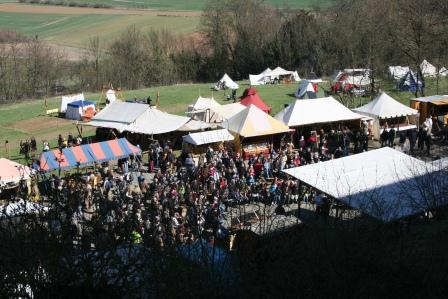 Ronneburg Ostermarkt 2012