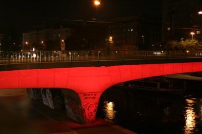Wien - Donaukanal - Nacht - Brücken4